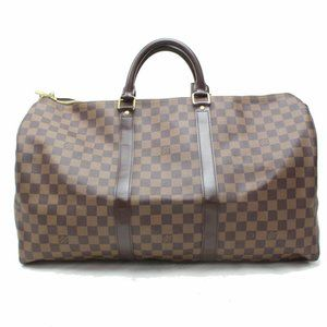 Louis Vuitton Damier Ebene Keepall 50 Boston Duffl